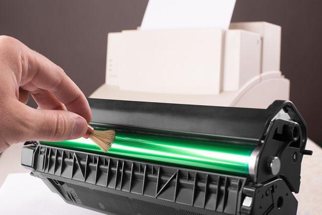 spausdintuvo prieziura
